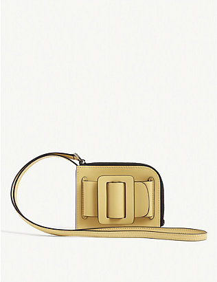 BOYY: Buckle leather card holder