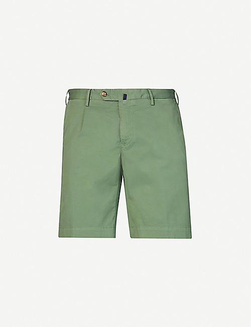 SLOWEAR: Batavia stretch-cotton chino shorts