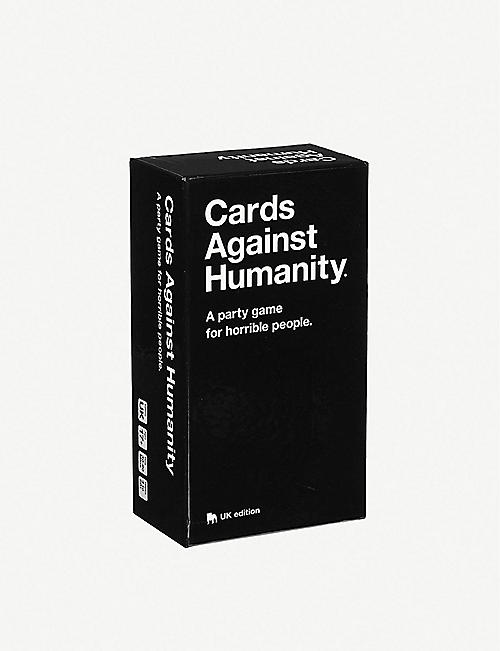 BOARD GAMES: Cards Against Humanity UK edition