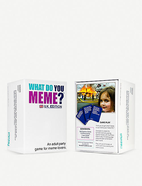 BOARD GAMES: What Do You Meme?