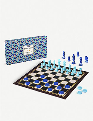 WILD & WOLF: Ridley's Chess and Checkers set