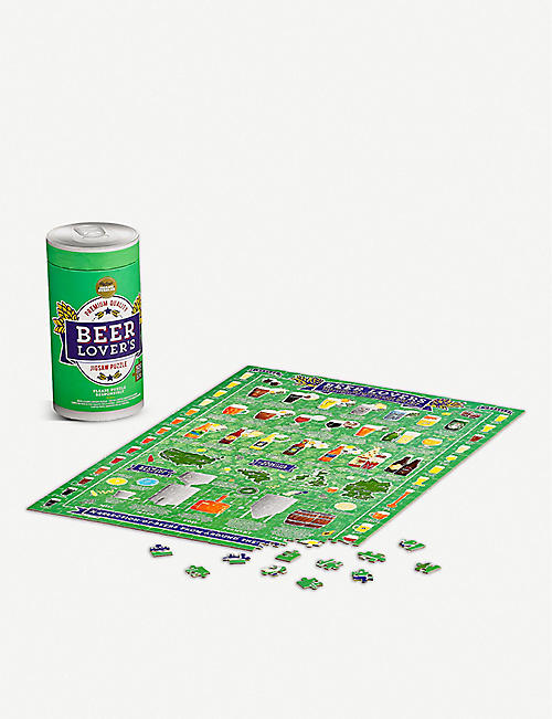 WILD & WOLF: Beer Lover's Jigsaw Puzzle 500 pieces