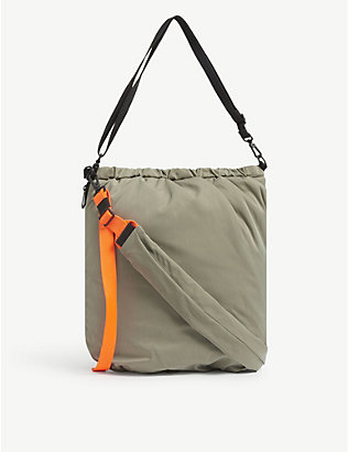COTE & CIEL: Orco nylon messenger bag