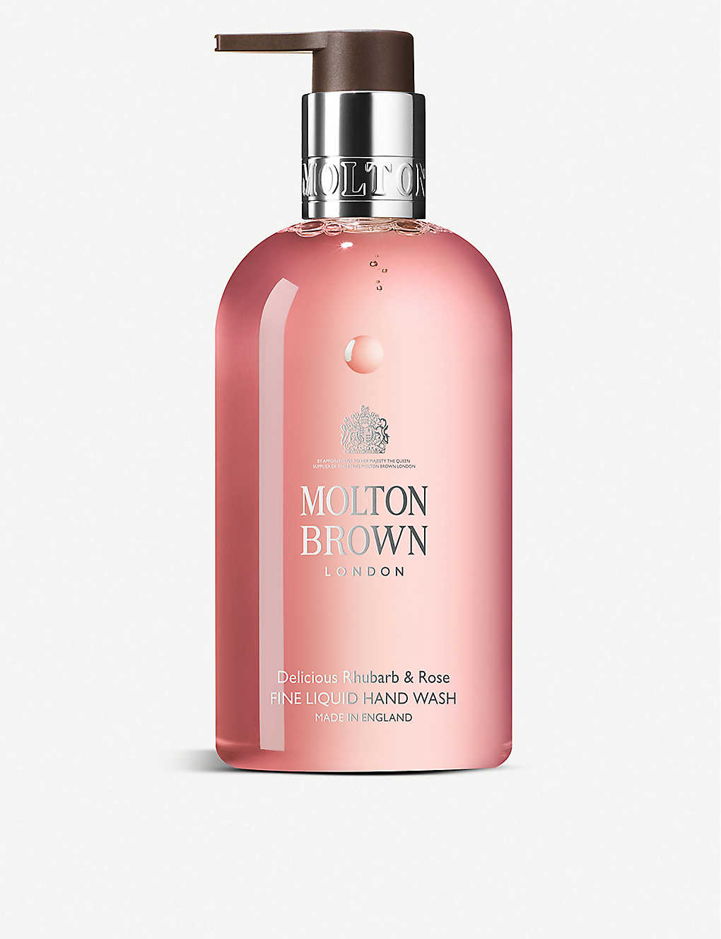 MOLTON BROWN: Rhubarb & Rose Liquid Hand Wash 300ml