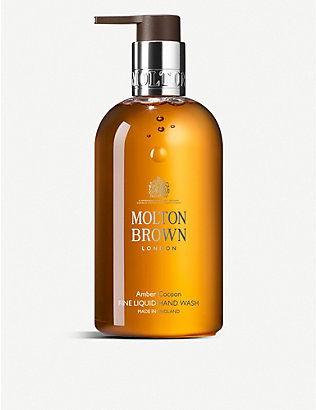 MOLTON BROWN: Amber Cocoon Fine Liquid Hand Wash 300ml