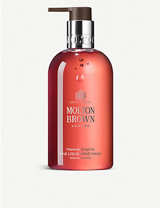 MOLTON BROWN: Heavenly Gingerlily Fine Liquid Hand Wash 300ml
