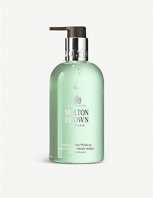 MOLTON BROWN: Refined White Mulberry Fine Liquid Hand Wash 300ml