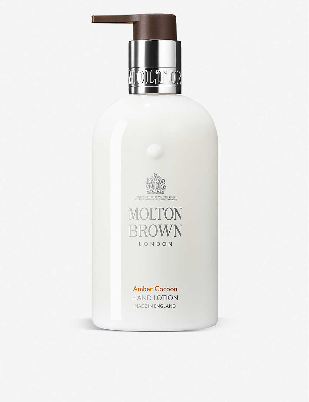 MOLTON BROWN: Amber Cocoon Hand Lotion 300ml