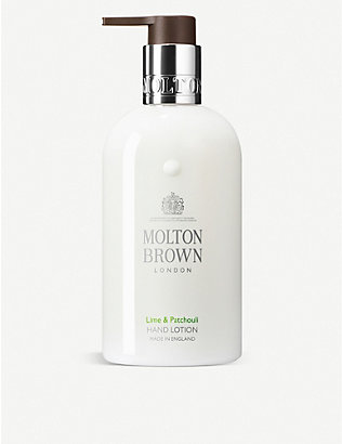 MOLTON BROWN: Lime & Patchouli Hand Lotion 300ml