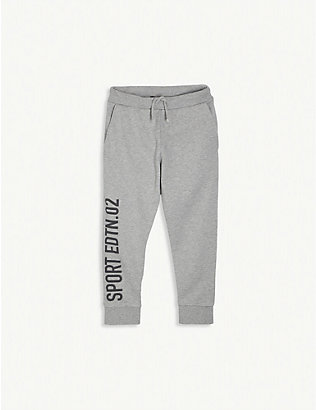DSQUARED2: Logo-printed cotton-jersey jogging bottoms 4-16 years