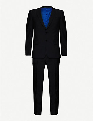 PAUL SMITH: Soho-fit wool and mohair-blend suit