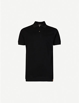 PAUL SMITH: Slim-fit collared cotton polo shirt