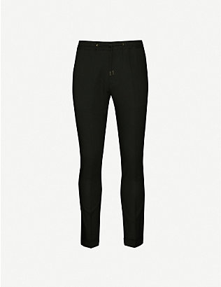 PAUL SMITH: Drawstring-waistband wool trousers
