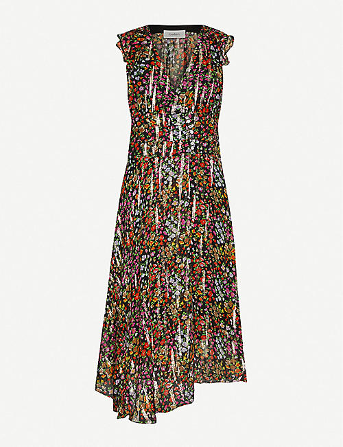 BA&SH: Fenix silk midi dress