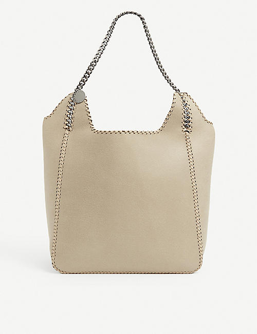 STELLA MCCARTNEY: Falabella medium faux leather-tote bag