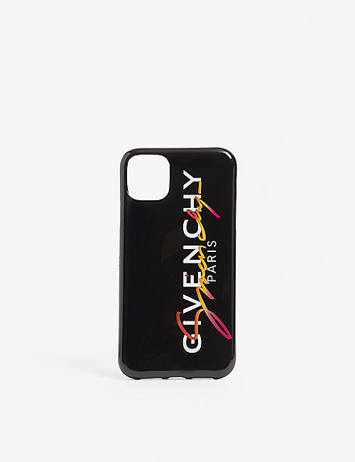 GIVENCHY: Logo-print Iphone 11 case