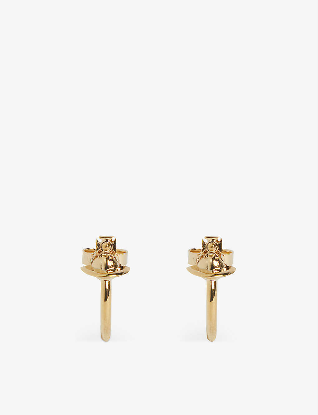 VIVIENNE WESTWOOD JEWELLERY: Vera small hoop earrings