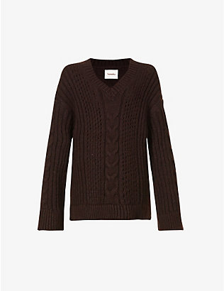 NANUSHKA: Arwan chunky stretch-knit jumper