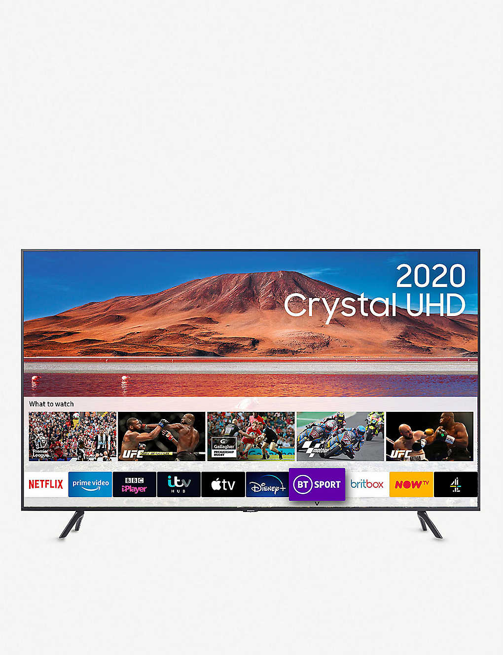 "SAMSUNG: 65"" TU7100 HDR Smart 4K TV with Tizen OS"