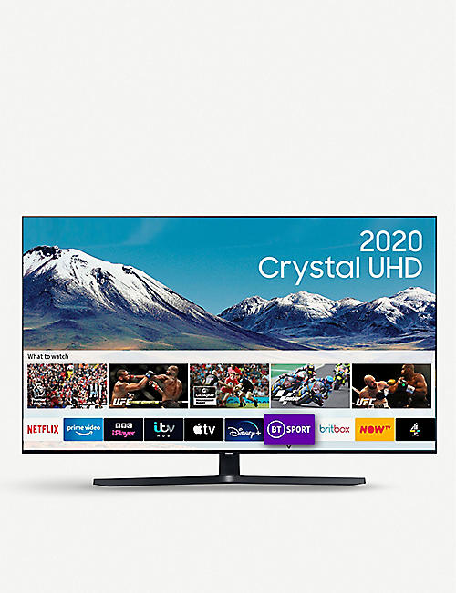 "SAMSUNG: 65"" TU8500 HDR Smart 4K TV with Tizen OS"