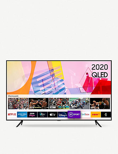 "SAMSUNG: 2020 43"" Q60T 4K HDR Smart TV"
