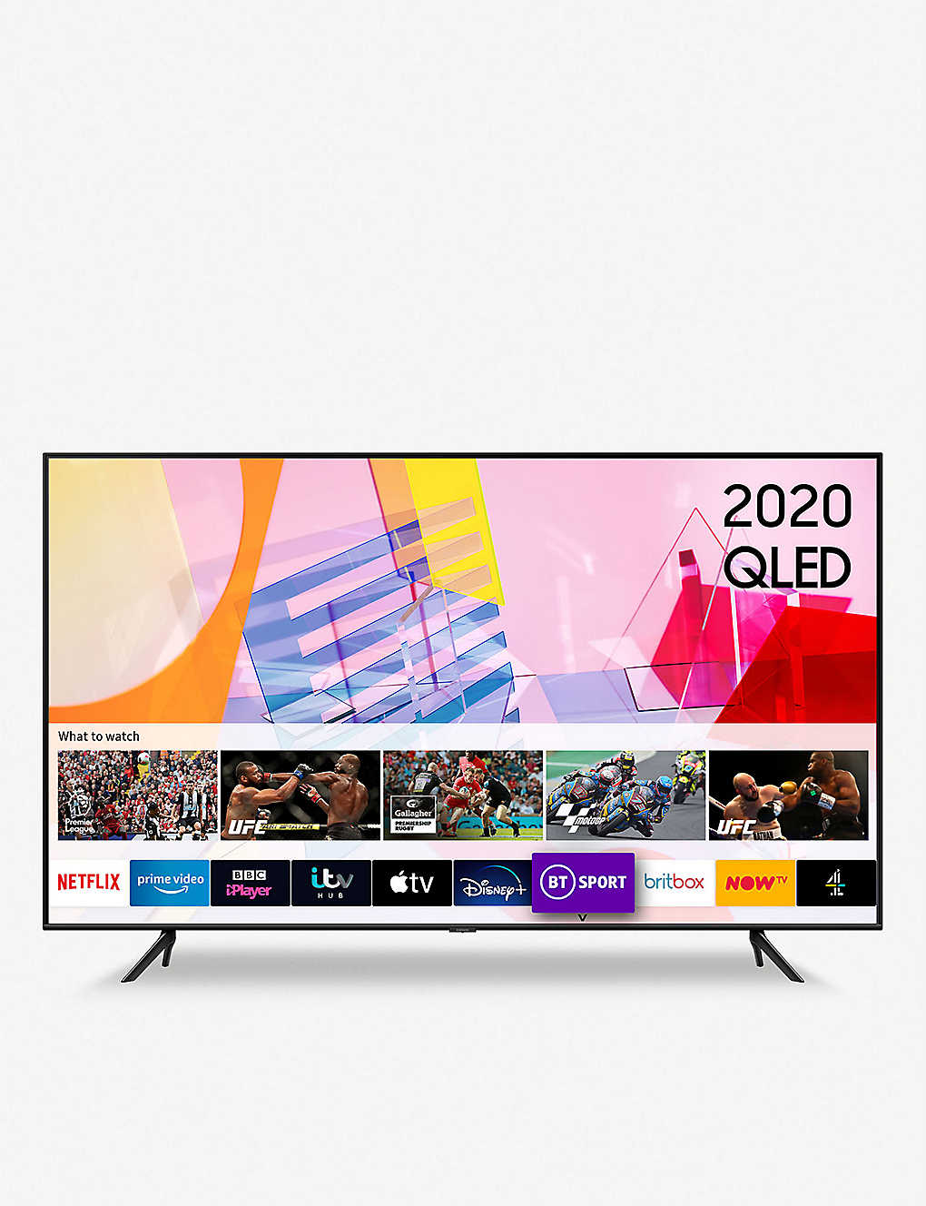 "SAMSUNG: 2020 55"" Q60T 4K HDR Smart TV"