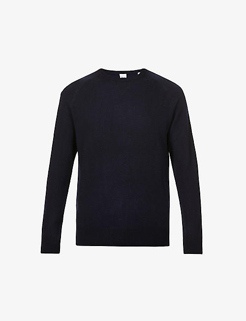 ASPESI: Raglan-sleeved crewneck wool jumper