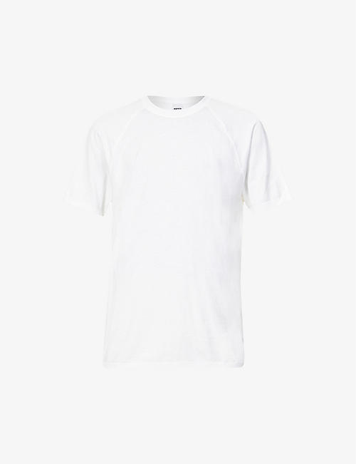 ASPESI: Crewneck cotton-jersey T-shirt
