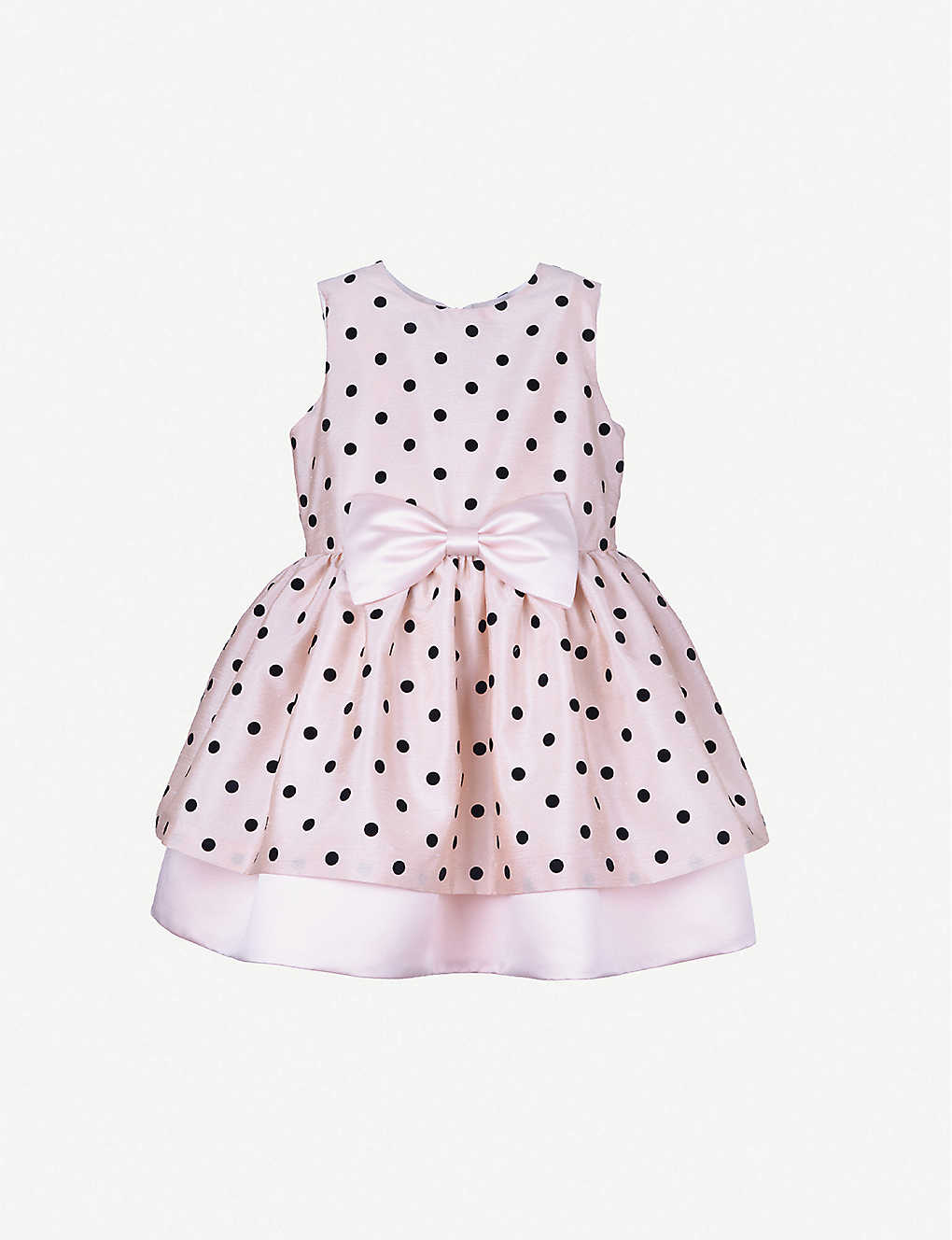 HUCKLEBONES: Polka dot tiered tulle dress 4-12 years