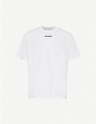 OFF-WHITE C/O VIRGIL ABLOH: Marker arrow-print cotton-jersey T-shirt
