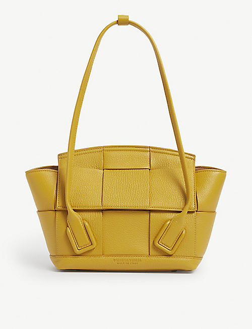 BOTTEGA VENETA: Intrecciato mini leather shoulder bag