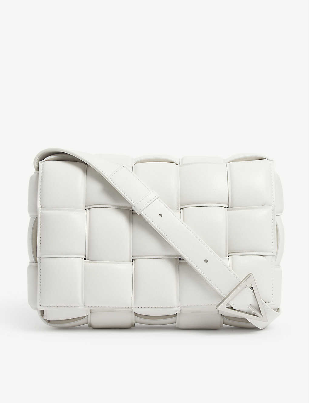 BOTTEGA VENETA: Cassette intrecciato leather cross-body bag