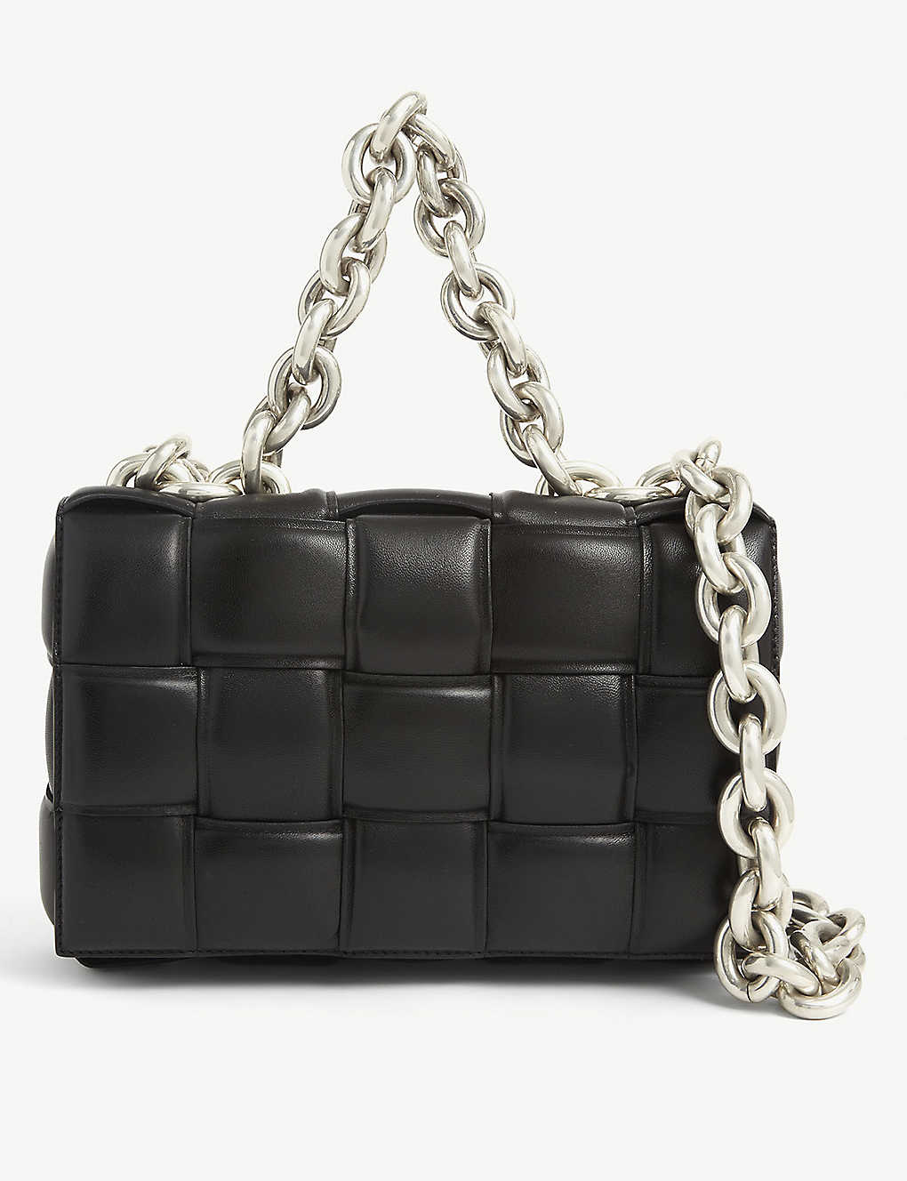 BOTTEGA VENETA:The Chain Cassette Intrecciato 皮革包袋