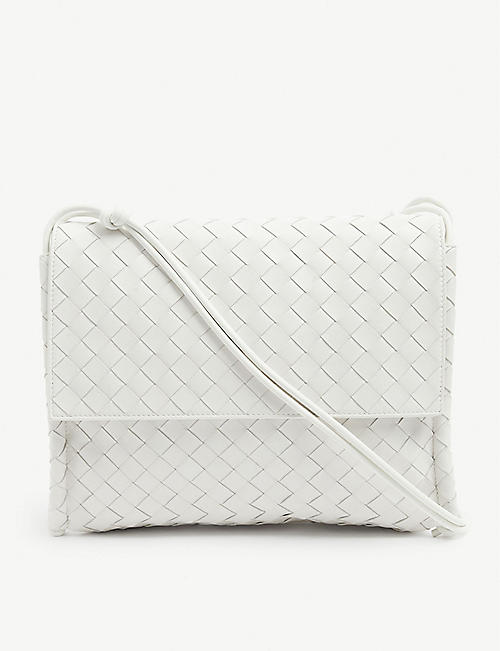 BOTTEGA VENETA: BV Intrecciato leather cross-body bag