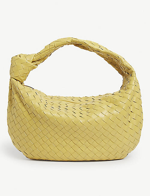 BOTTEGA VENETA: BV Jodie small intrecciato leather hobo bag