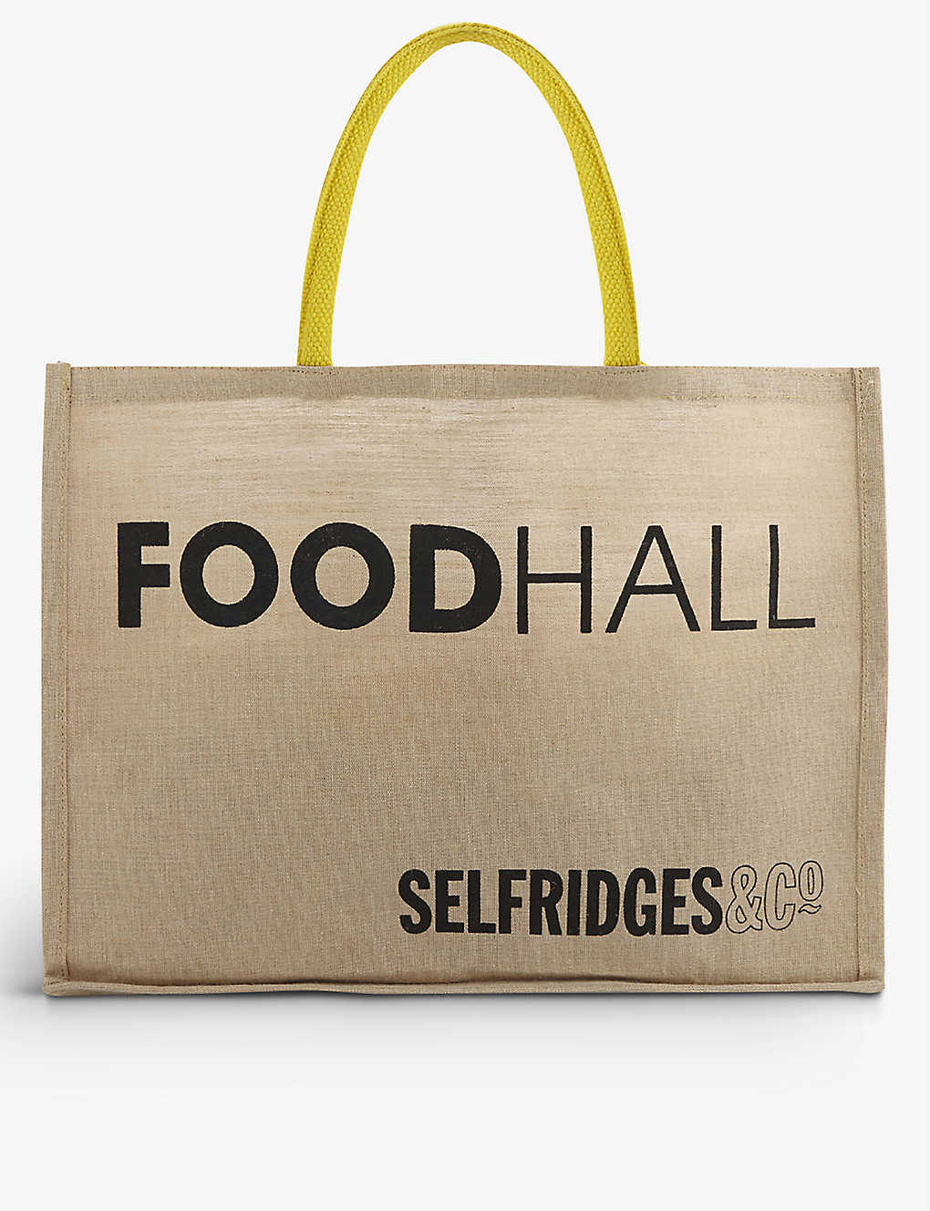 SELFRIDGES SELECTION: Logo-print reusable food bag