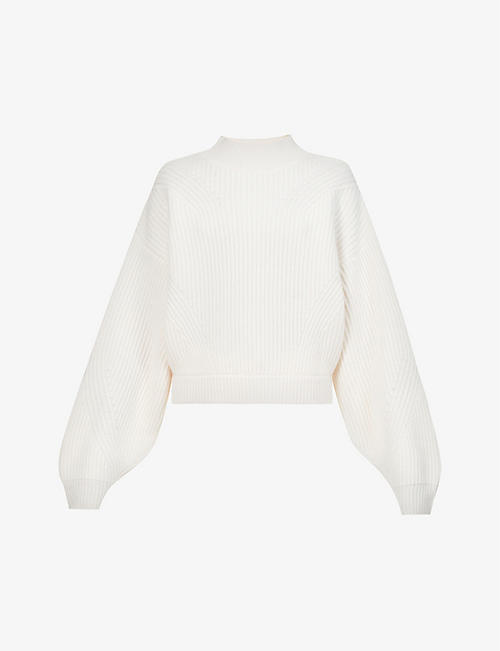 LE KASHA: Merida funnel-neck cashmere jumper