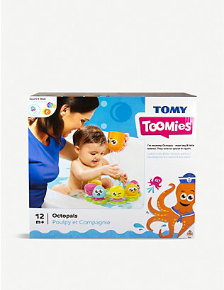 TOMY: Toomies Octopals bath toy