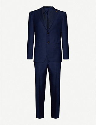 PAL ZILERI: Regular-fit wool suit