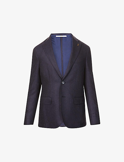 PAL ZILERI: Brera single-breasted cashmere jacket