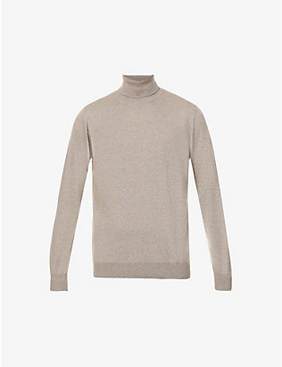 PAL ZILERI: Roll neck wool jumper