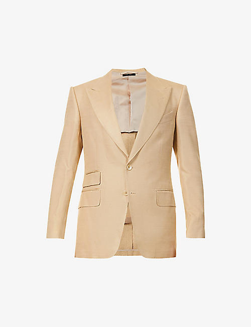 TOM FORD: Sehelton silk jacket