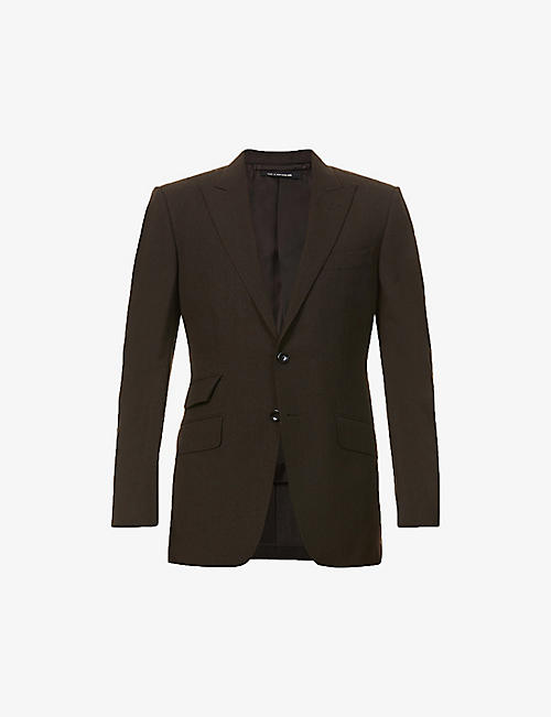 TOM FORD: Single-breasted wool jacket