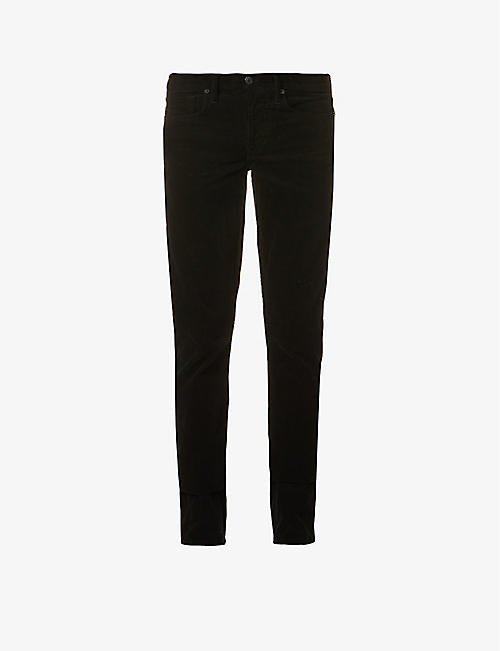 TOM FORD: Slim-fit corduroy trousers