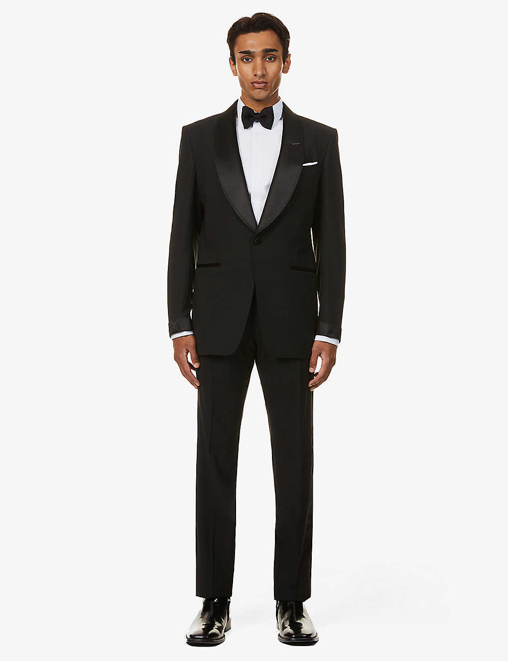 TOM FORD: Atticus-fit stretch-wool tuxedo suit