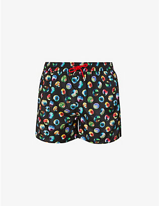 PAUL SMITH: Polka dot swimming trunks