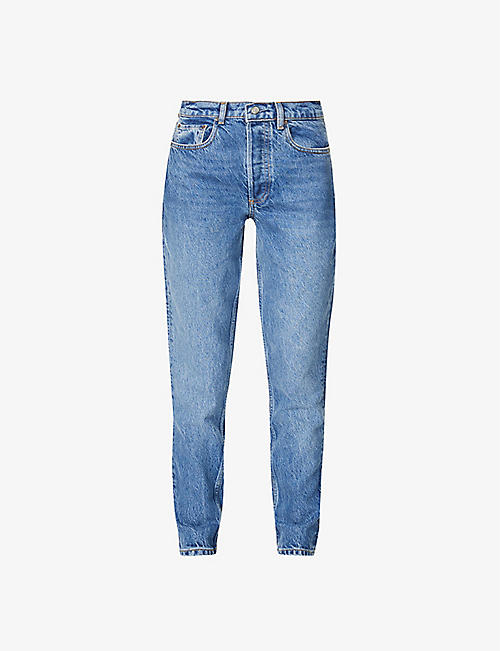 BOYISH: The Billy skinny high-rise jeans