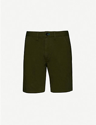 PS BY PAUL SMITH: Regular-fit stretch-cotton shorts
