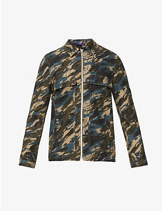PS BY PAUL SMITH: Camouflage-print cotton-twill jacket