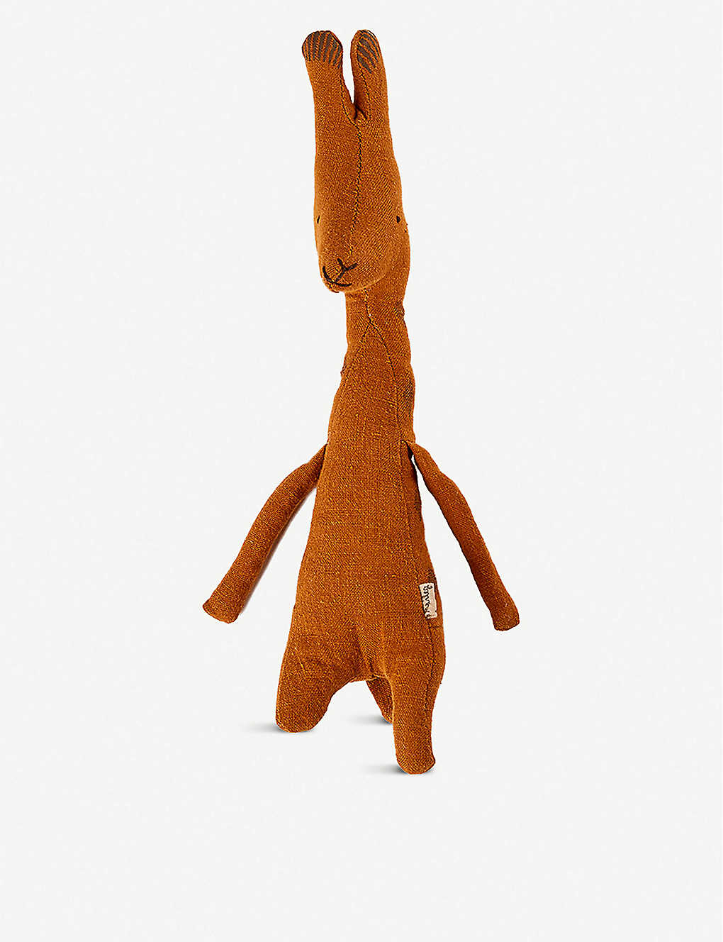 THE CONRAN SHOP: Maileg Mini Giraffe linen soft toy 14cm
